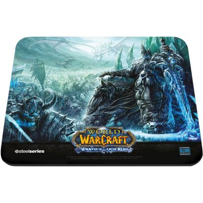 Коврик для мыши SteelSeries QcK March of the Scourge Exclusive WoW Wrath of the Lich King