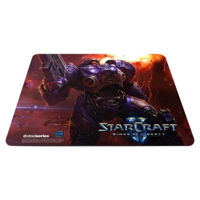 Коврик для мыши SteelSeries QcK SC2T StarCraft II Tychus (63302)