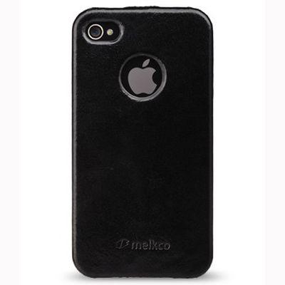 Чехол Melkco Jacka id Type для Iphone 4s - черный