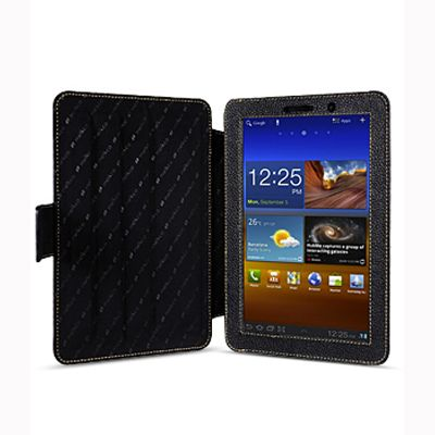 Чехол Melkco kios type для Samsung Galaxy Tab 7.7 - черный
