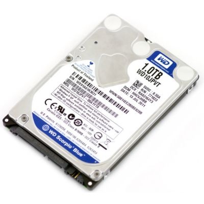 Жесткий диск Western Digital Scorpio Blue 1000GB 5200RPM 8MB SATA-II 300 Mobile WD10JPVT