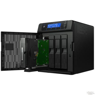 "Сетевое хранилище Western Digital Sentinel DX4000 6000GB 3,5"" lan External WDBLGT0060KBK"