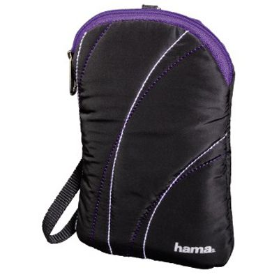 """Чехол Hama для внешнего жесткого диска 2.5"""" Soft, Black H-95540"""