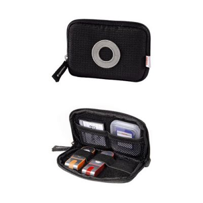 Чехол Hama для карт памяти/USB накопителей Orlando black H-95940