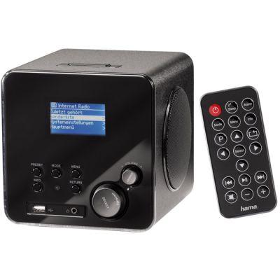 Hama Интернет-радио IR100, беспроводное, Black H-53195