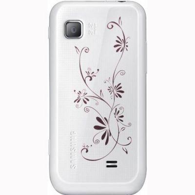 Смартфон, Samsung Wave 525 GT-S5250 La Fleur Peal White