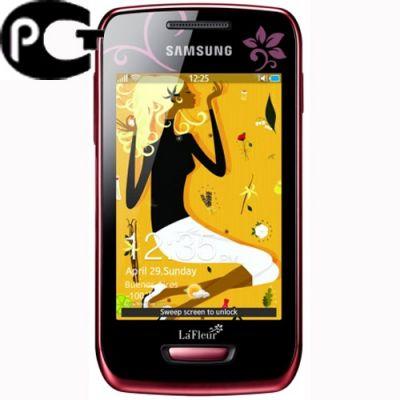 Смартфон, Samsung Wave Y GT-S5380 La Fleur Wine Red