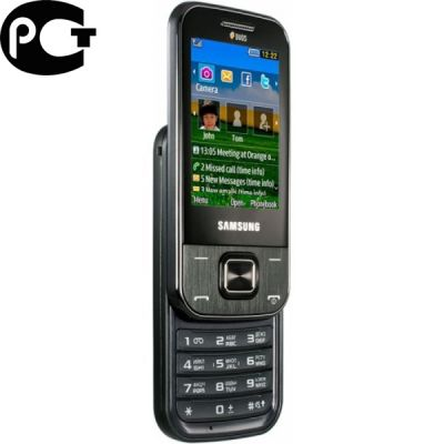 Телефон, Samsung GT-C3752 Metallic Gray