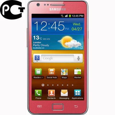 Смартфон, Samsung Galaxy S II GT-I9100 Coral Pink