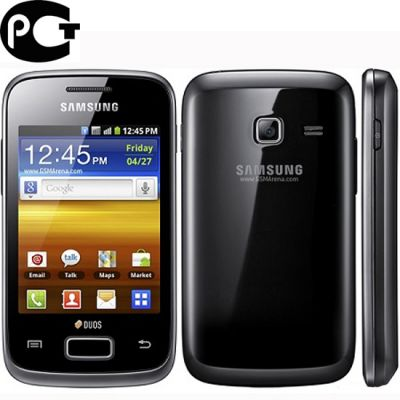 Смартфон, Samsung Galaxy Y Duos GT-S6102 Strong Black