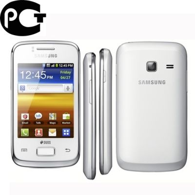 Смартфон, Samsung Galaxy Y Duos GT-S6102 Pure White
