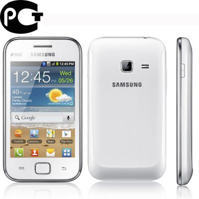 Смартфон, Samsung Galaxy Ace Duos GT-S6802 Chic White