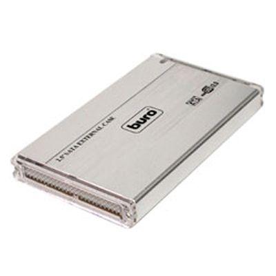 """Buro Бокс USB 2.0 для 2.5"""" HDD SATA, алюминий BU-Box/2.5 S"""