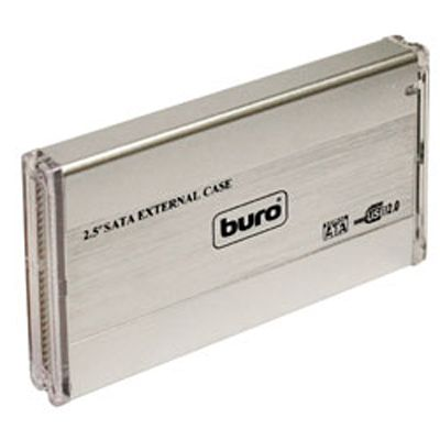"Buro ���� USB 2.0 ��� 2.5"" HDD SATA, �������� BU-Box/2.5 S"