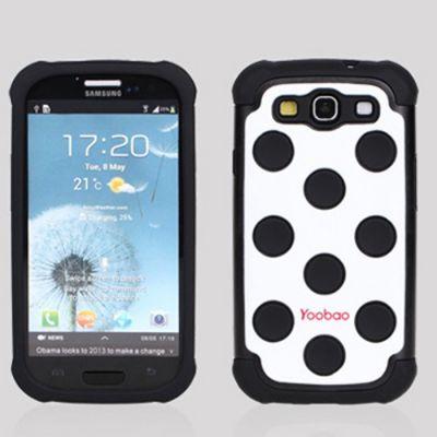 Чехол Yoobao 3 in 1 Protect Case для Samsung Galaxy S3 Black