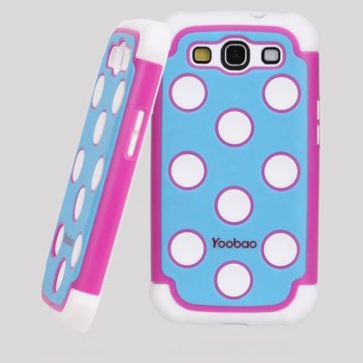 Чехол Yoobao 3 in 1 Protect Case для Samsung Galaxy S3 Pink