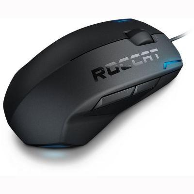 Мышь проводная Roccat Kova[+] 3200 dpi, черный ROC-11-520-AS