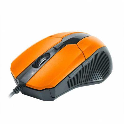 Мышь проводная CBR cm 301 Orange