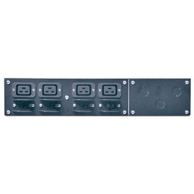Аксессуар APC apc Service Bypass Panel- 230V, 50A, mbb, Hardwire input, (4) IEC-320 C19 Output SBP6KRMI2U