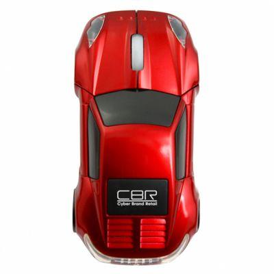 Мышь проводная CBR mf 500 Lambo Red