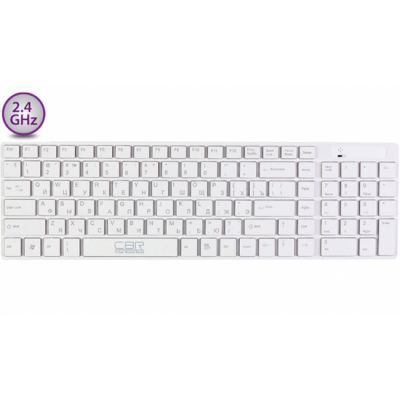 Клавиатура CBR KB 460W White