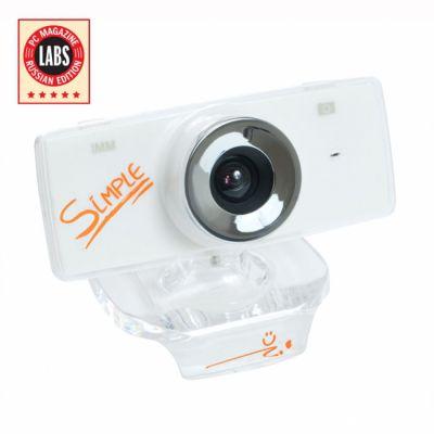 Веб-камера CBR S3 White