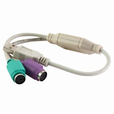 CBR переходник cb 02 USB - 2 PS/2 Adapter