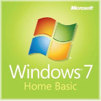 Программное обеспечение Microsoft Windows 7 Home Basic 7 SP1 32-bit Russian Single package dsp oei DVD F2C-00884
