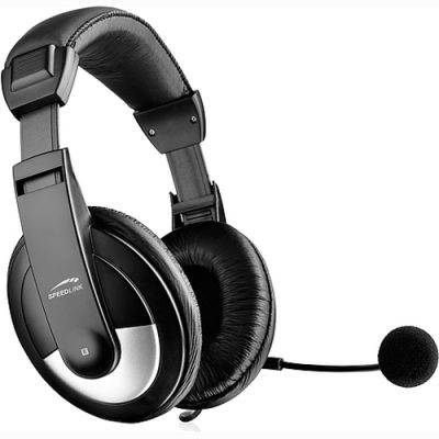 Наушники Speedlink thebe Stereo Headset SL-8743-SBK-02