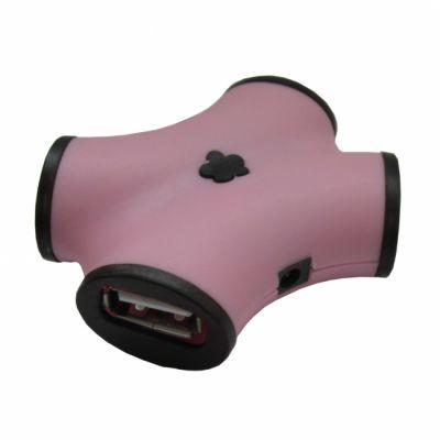 Аксессуар CBR USB-концентратор ch 100 Pink