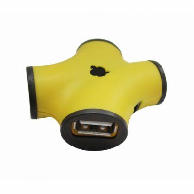 Аксессуар CBR USB-концентратор ch 100 Yellow