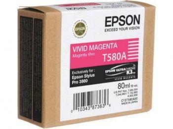 Картридж Epson Magenta/Пурпурный (C13T580A00)