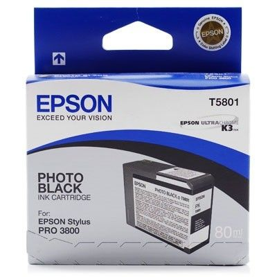 Картридж Epson Black/Черный (C13T580100)