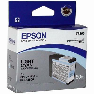 Картридж Epson Cyan/Голубой (C13T580500)