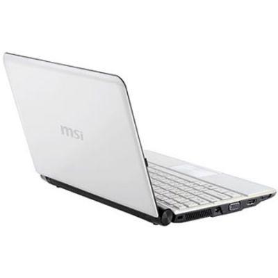 Ноутбук MSI Wind U180-260 White