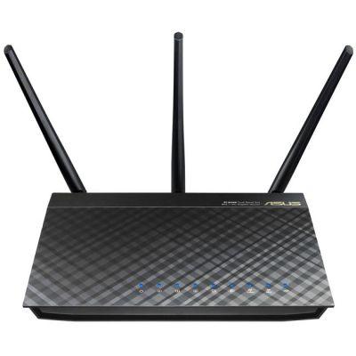 Wi-Fi роутер ASUS RT-AC66U 1300Mbps lan