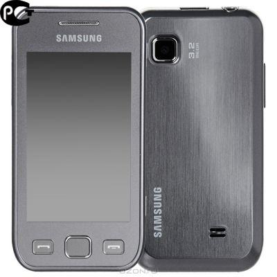 ��������, Samsung Wave 525 GT-S5250 Metallic Silver