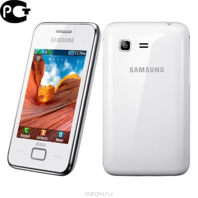 Смартфон, Samsung Wave Y GT-S5380 Pure White