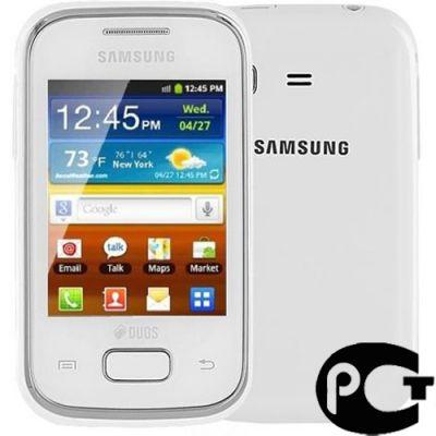 Телефон, Samsung GT-S5302 White
