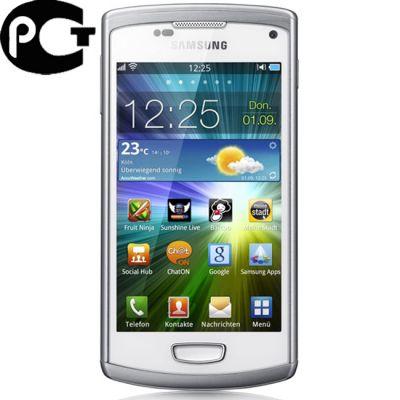Смартфон, Samsung Wave 3 GT-S8600 White Silver