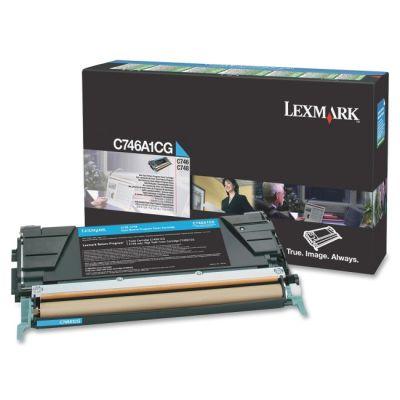 Картридж Lexmark Cyan /Зеленовато - голубой C746, C748 (C746A1CG)