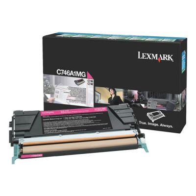 Картридж Lexmark Magenta/Пурпурный C746, C748 (C746A1MG)