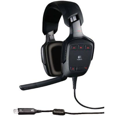 �������� � ���������� Logitech Headset G35 Surround Sound 981-000117
