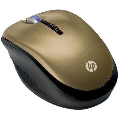 Мышь беспроводная HP Wireless Optical (Butter Gold) cons LP336AA