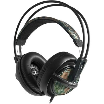 Наушники с микрофоном SteelSeries Siberia v2 Counter Strike (51112)