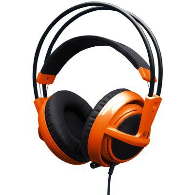�������� � ���������� SteelSeries Siberia v2 full-size headset Orange (51106)