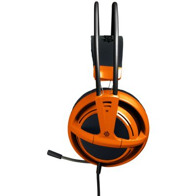 Наушники с микрофоном SteelSeries Siberia v2 full-size headset Orange (51106)