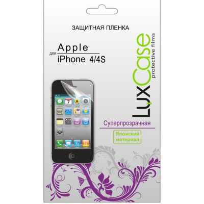 �������� ������ LuxCase ��� Apple iPhone 4/4S (���������������) (80222)