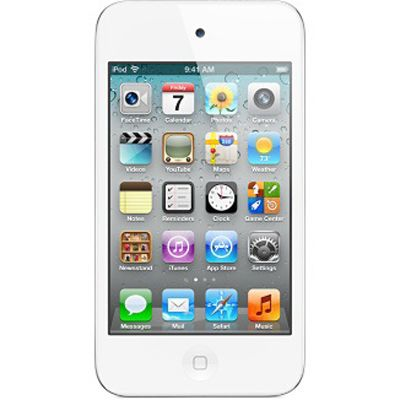 Аудиоплеер Apple iPod touch 4 16Gb White ME179RP/A