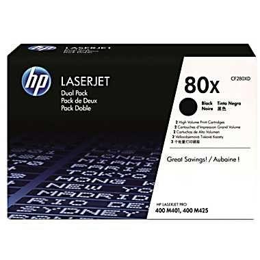 Тонер-картридж HP 80X Black/Черный (CF280XD)